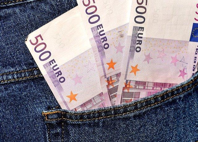 1500 eur v kapse