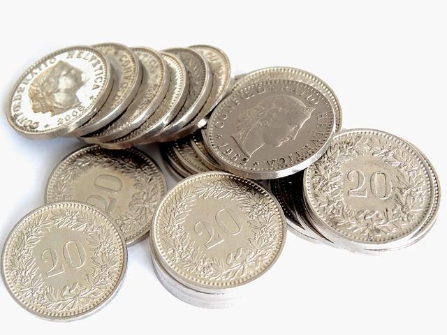 hliníkové mince