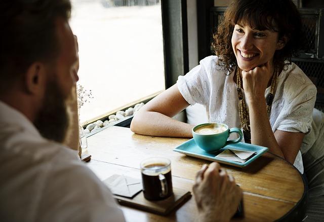 láska nad kávou