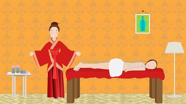 čína masážní terapie