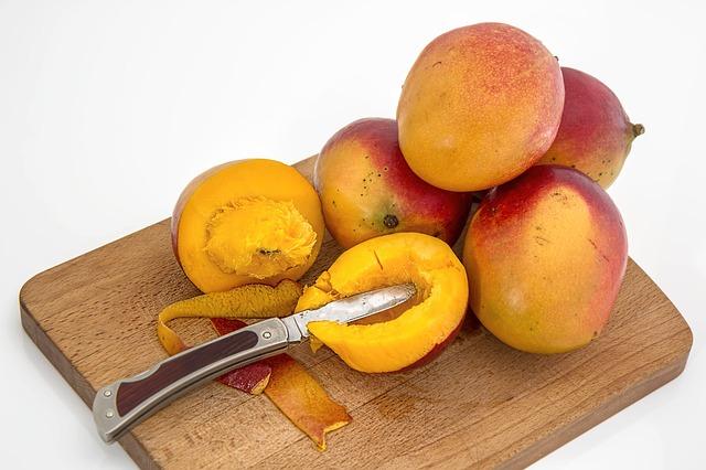 mango na prkýnku