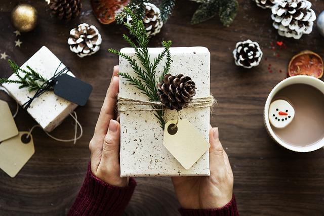 kakao k balení dárků
