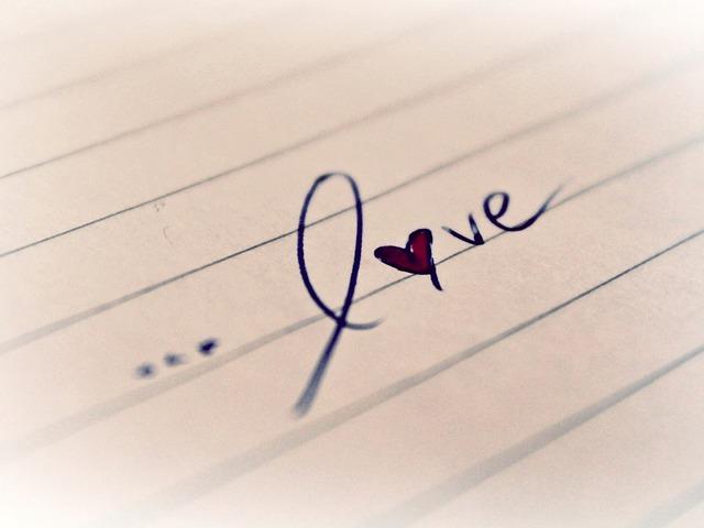 anglicky láska