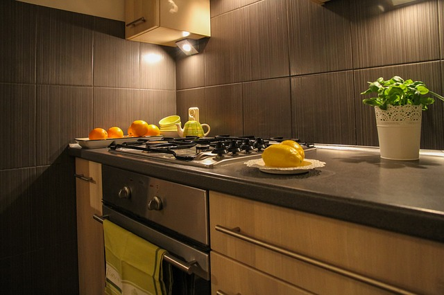 bodové světlo v kuchyni